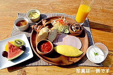 ペンション朝食の一例