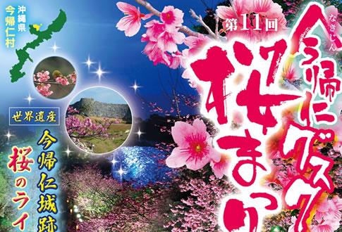 2018今帰仁城跡グスク桜祭り