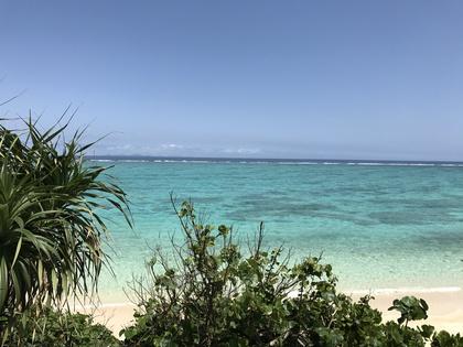 沖縄の3月は海開き